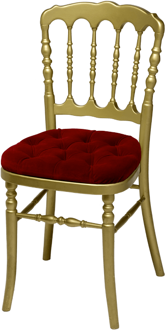 chaise napol on iii dor e assise rouge duquesne. Black Bedroom Furniture Sets. Home Design Ideas